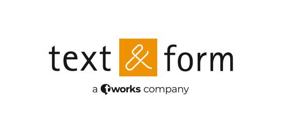 text&form GmbH, Berlin
