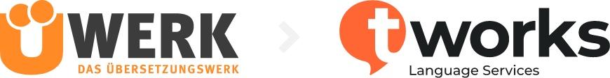 Uewerk wird zu t'Ü-Werk wird t'works Language Services