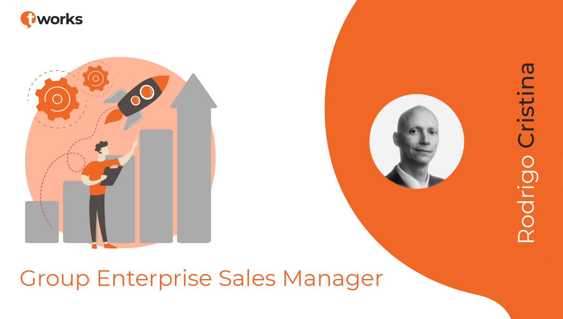 Rodrigo Cristina, Group Enterprise Sales Manager by t'works