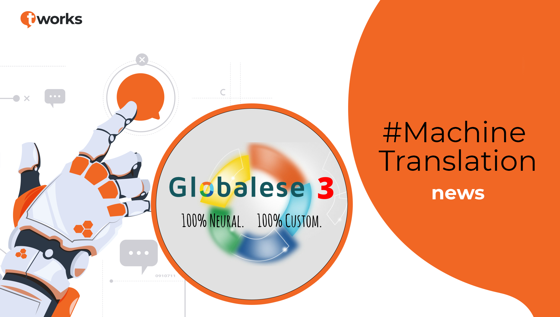 t'works and Globalese Partnership Machine Translation
