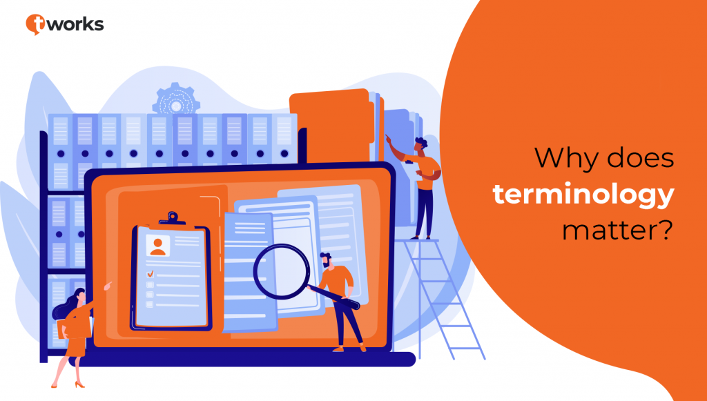 Terminology management by t'works
