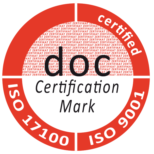 t'works ISO 17100:2016 Certification