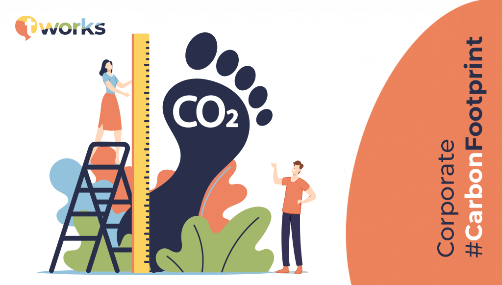Corporate Carbon Footprint by t'works