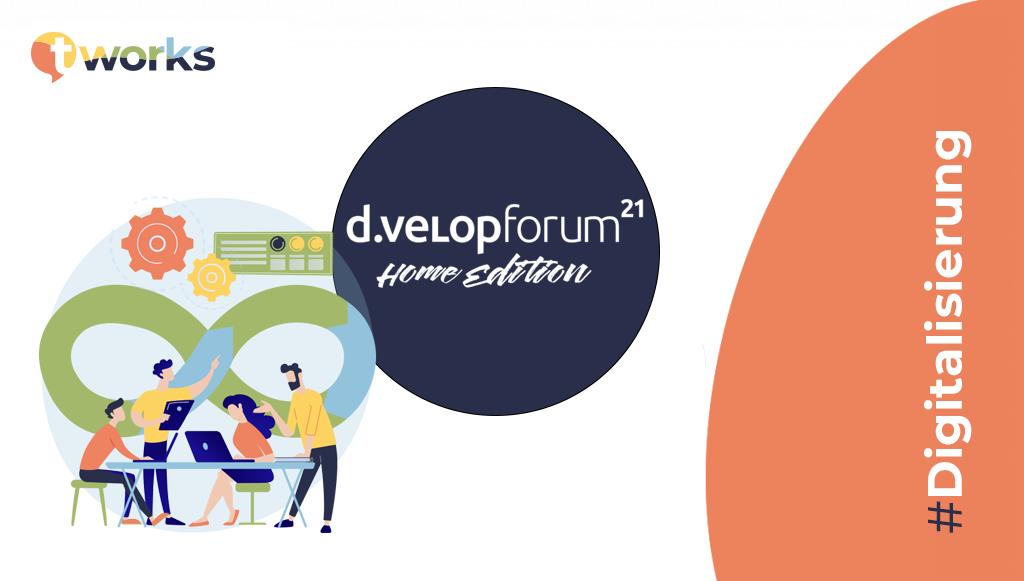 d.velop Forum mit t'works